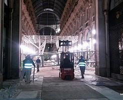 Ponteggio Mobile Galleria Duomo Milano